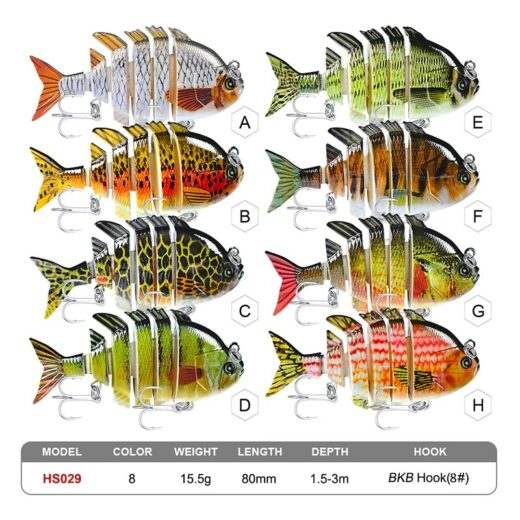 Fishing Lures. ProBeros HS029.