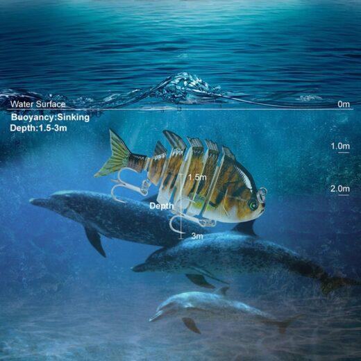 Fishing Lure PRO BEROS Sinking Depth 1.5-3m