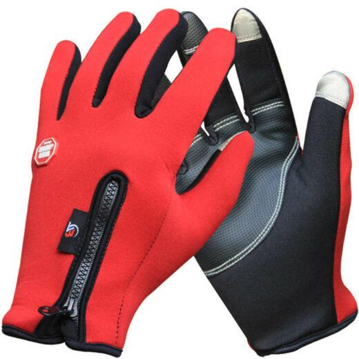 Thermal Bike Gloves CLB FFG-05 Red
