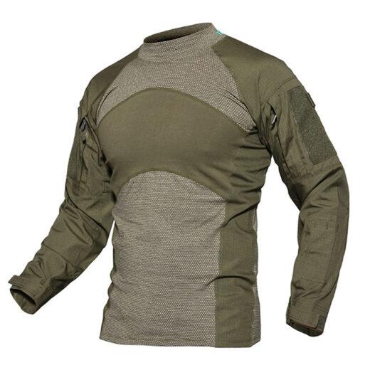 Sport T-Shirt Long Sleeve Green