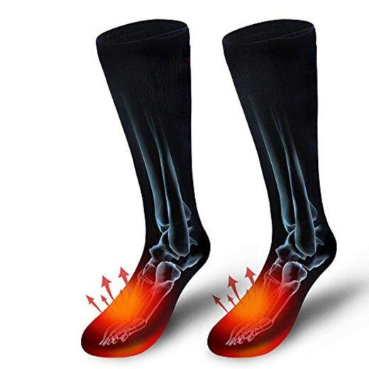 Electric-Heating Socks Black