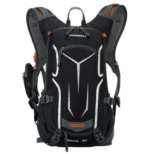 Lixada18L (ANMEILU) Climbing Bag Travel Hiking Backpack Water resistant Cycling Travel Mountaineering Hydration Men Women Sports Bag Black