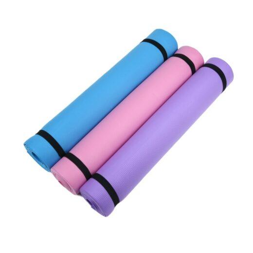 Thick Soft Foam Fitness Yoga Mat 6mm
