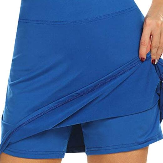 Performance Active Skorts Skirt. Skirts Womens Plus Size Pencil Skirts Womens Running Tennis Golf Workout Sports Blue