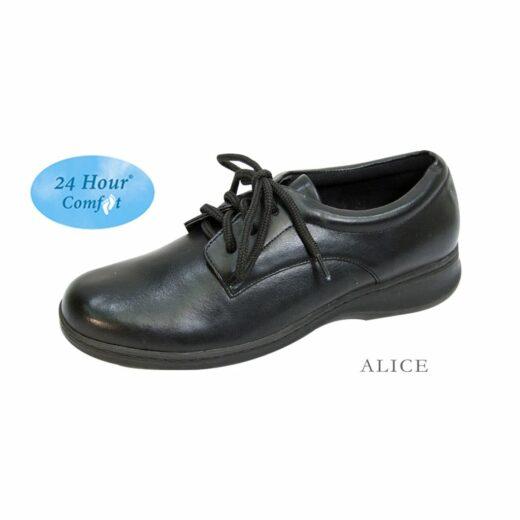 Footwear US - Alice. Casual Shoes. Black.