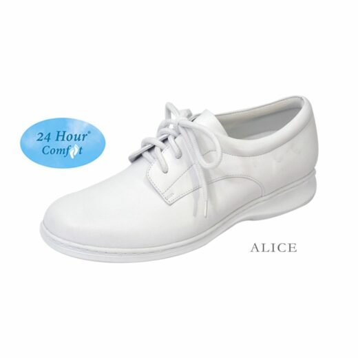 Footwear US - Alice. Casual Shoes. White.