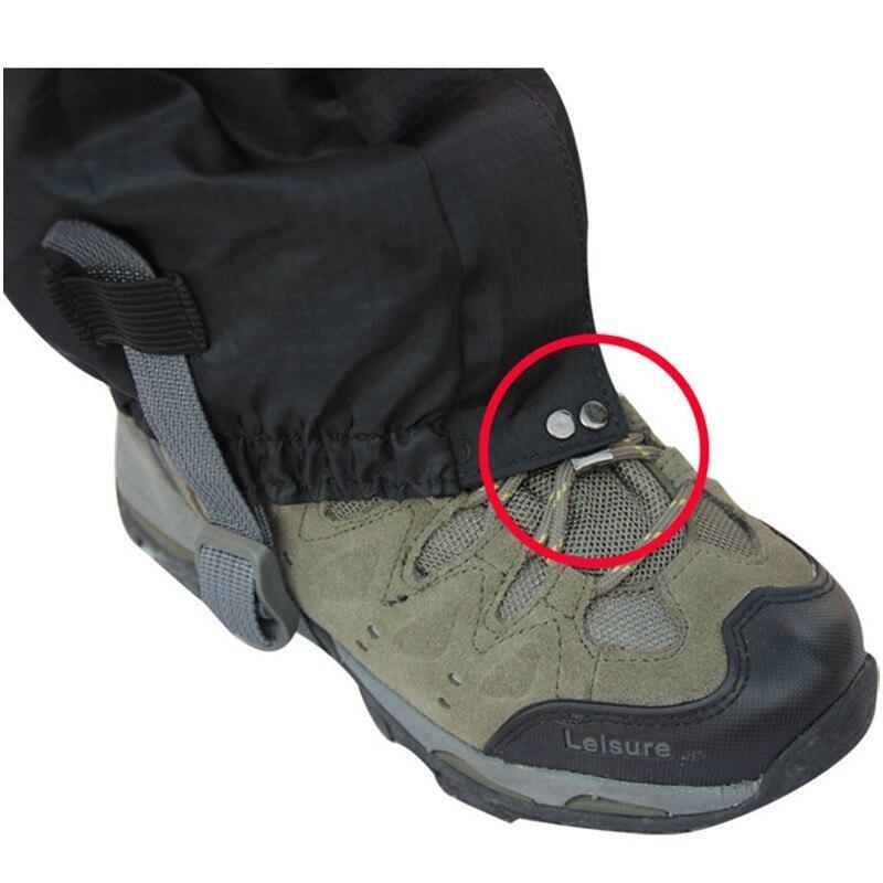 Sports / Hunting / Hiking Gaiters Shoe Lock