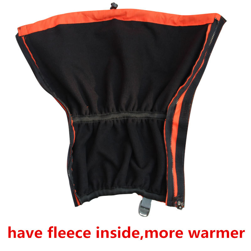 Winter Warm Gaiters Leg Warmers Fleece Inside