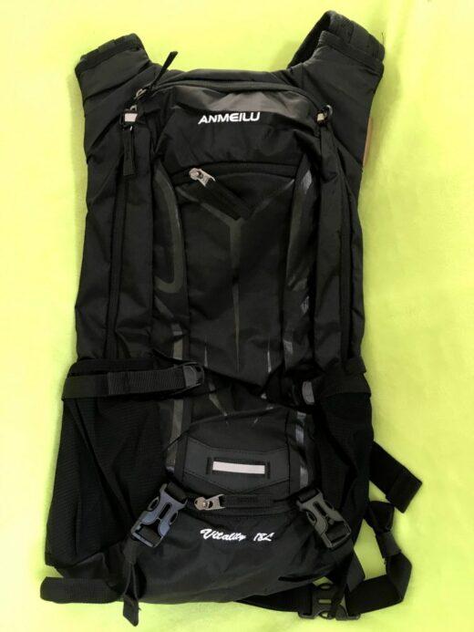 Lixada18L (ANMEILU) Climbing-Travel-Hiking-Cycling Hydration Sport Backpack Solid Black
