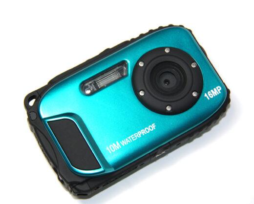 Waterproof Digital Camera 10M 1080 Blue