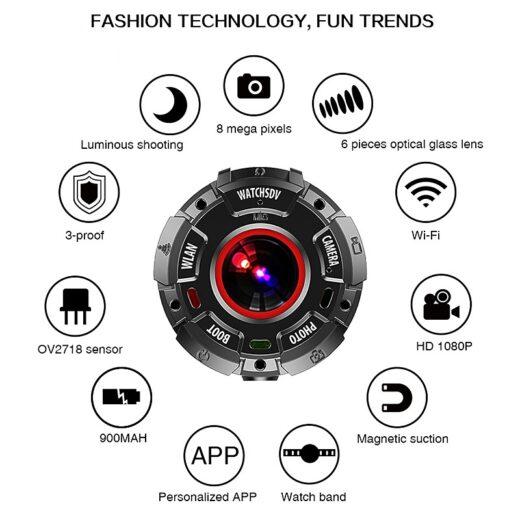 Winait Full Hd 1080p Digital Smart Watch Features
