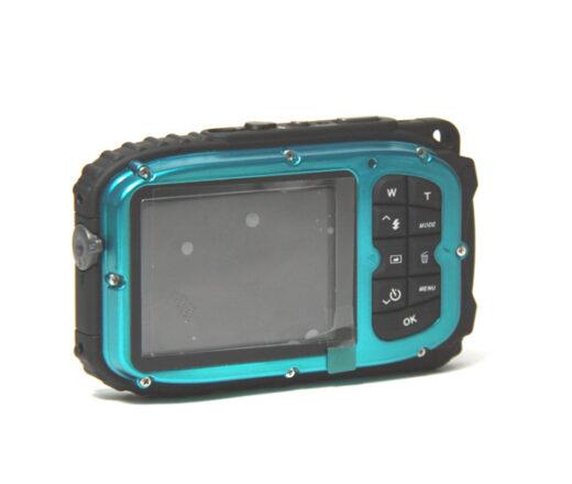 Waterproof Digital Camera 10M 1080 Back Blue