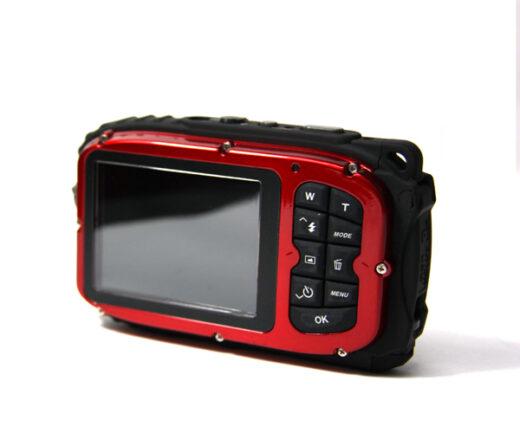 Waterproof Digital Camera 10M 1080 Back Red