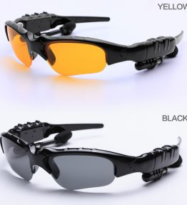Sport Sunglasses Headset with Bluetooth Connectivity