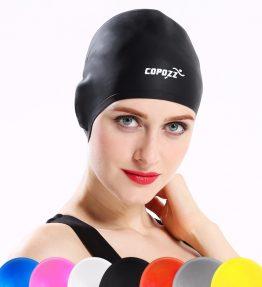 Elastic Silicone Waterproof Swimming Cap