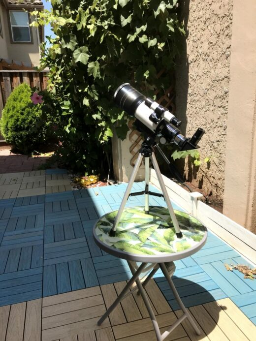 terrestrial and astronomical telescope