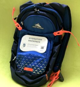High Sierra Hydration Pack with Reflective Print