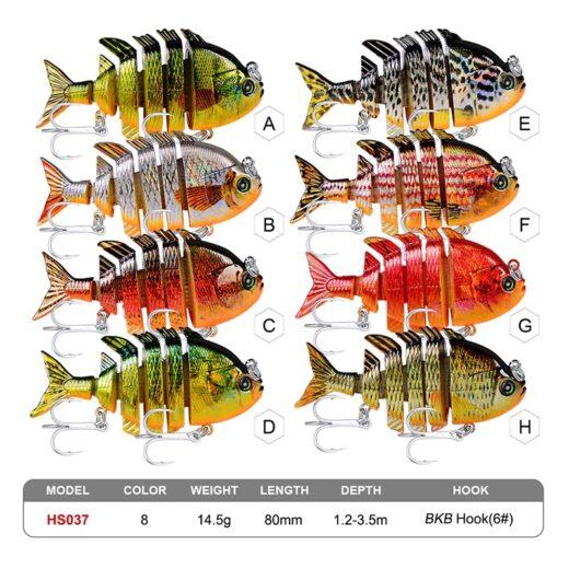 Fishing Lures. ProBeros HS037.