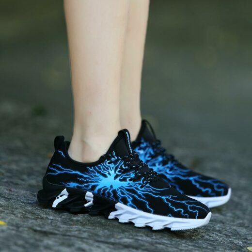 Sport Fashion Sneakers for Running Hiking Gym Blue