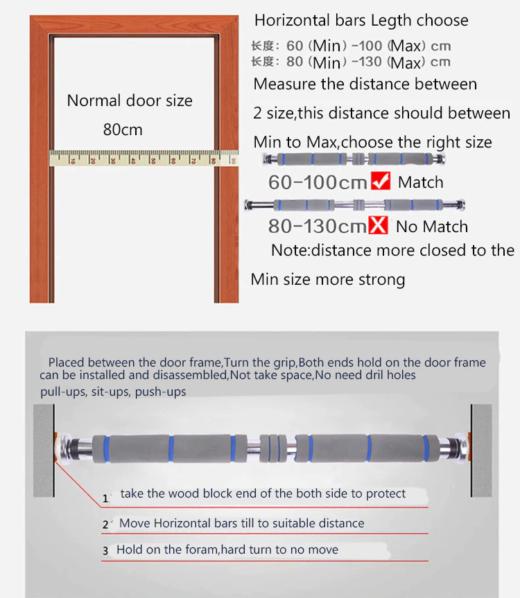 Chin Horizontal bar instruction