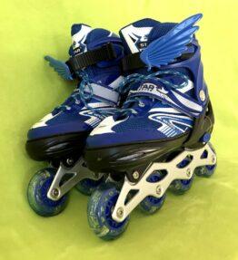 Inline Skates with Aluminium Blade and Flashing Wheels