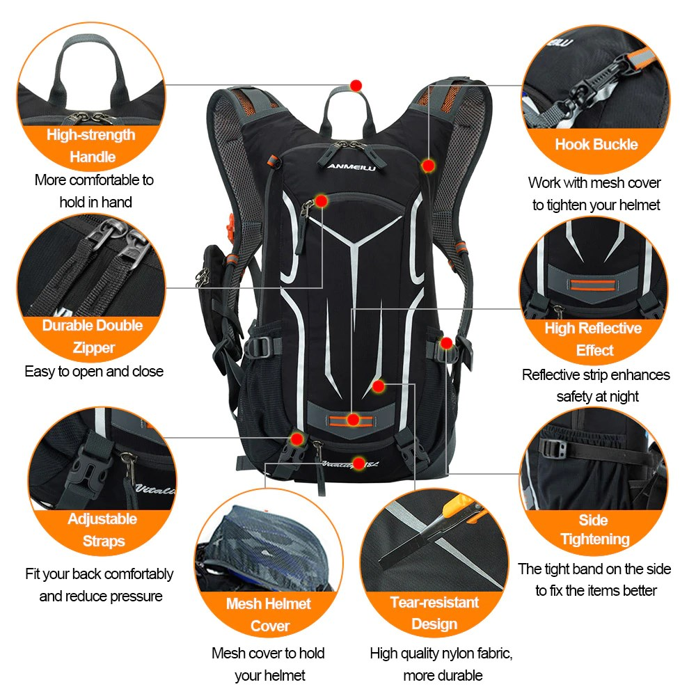 ANMEILU Backpack Features