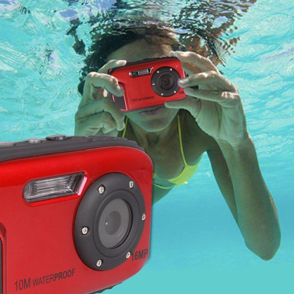 Winait 16MP waterproof digital sports swimming video camera