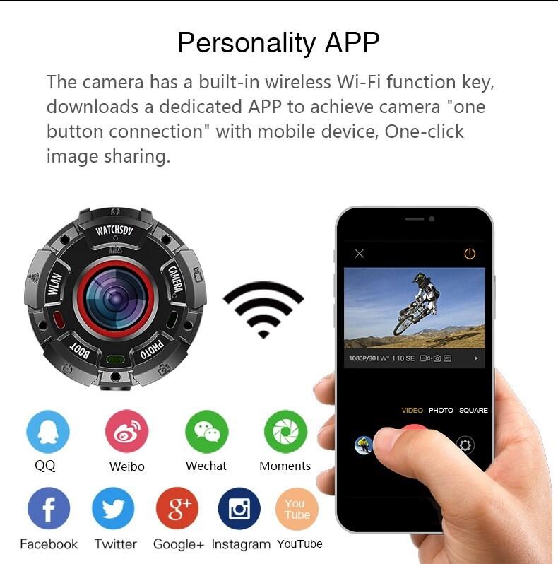 Digital Watch Waterproof Personality APP