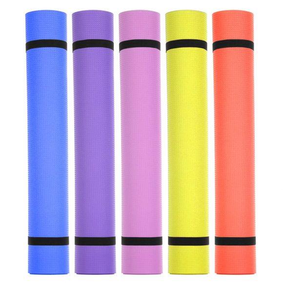 Yoga Mat EVA 1730x600x4mm Non-Slip Carpet Gym Sports Exercise Padsn for Beginner Senior Fitness Equipment