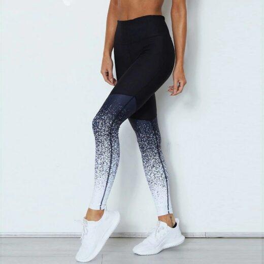 Women Gym Fitness Yoga Pants Black