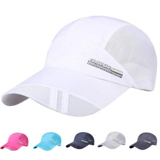 Baseball Quick-Dry Running Cap