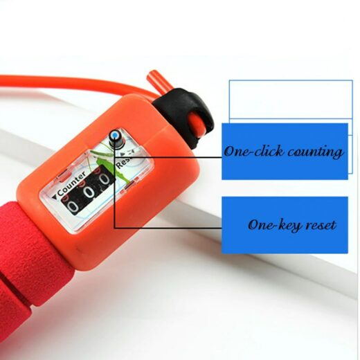 Fitness Jump Ropes with Speed Counting Manual