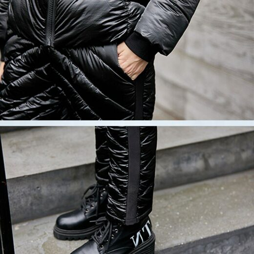Winter Casual Suit Pocket and narrow pants