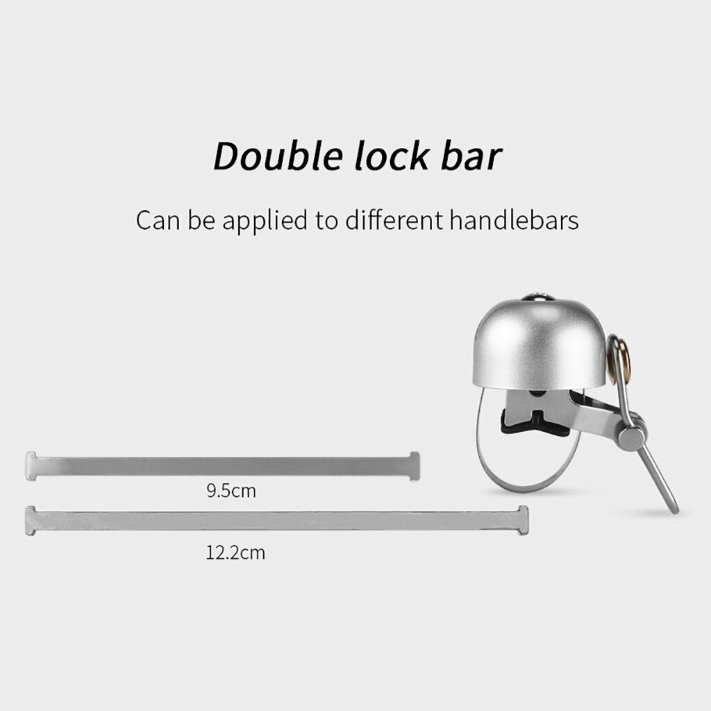 Cycling Horn Double Lock Bar Can be applied to different handlebars