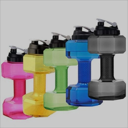 Water Bottle Dumbbells All 2.2l