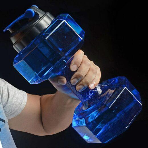 Water Bottle Dumbbells Size Example