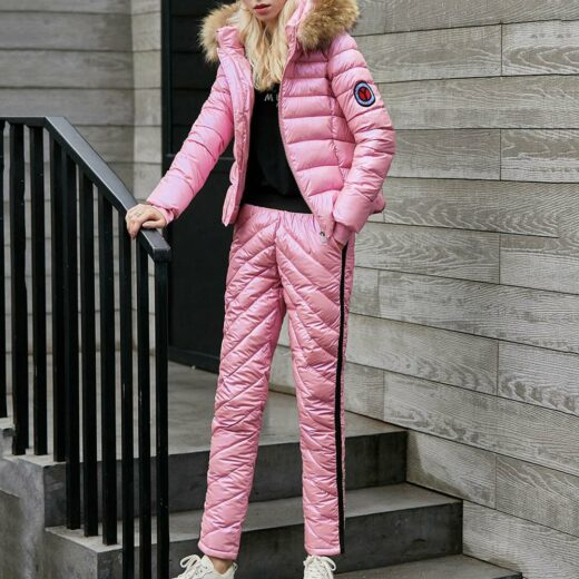 Winter Casual Suit Rose