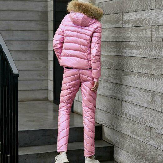 Winter Suit Rose