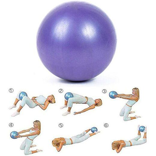yoga exercises with ball