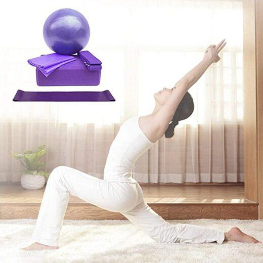 yoga exercises set 5 items