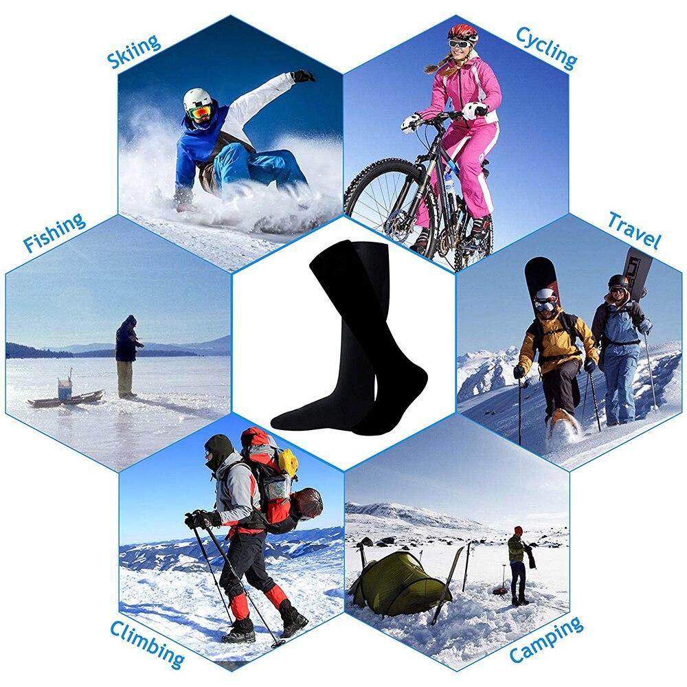 Electro Heating Socks Skiing Cycling Travel Fishing Climbing Camping