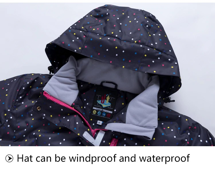 Hat can be Windproof and Waterproof