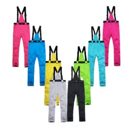 30 Waterproof Unsex Women or Men Snow pant outdoor sportswear Suspended trousers snowboarding Clothes bib