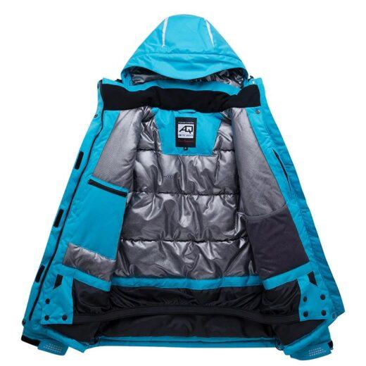 Women's Snow Sports Ski Jacket Features