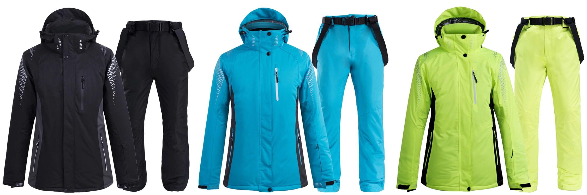Ski Suit 3 Color