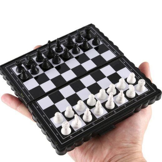 Portable Folding Magnetic Pocket Plastic Chess