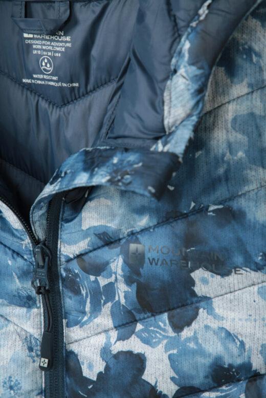 Womens Printed Padded Jacket