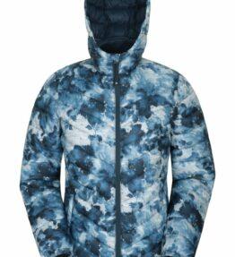 Water Resistant Women's Printed Jacket