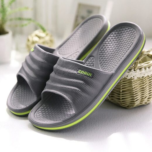 Men's Women's Summer Slippers Gray