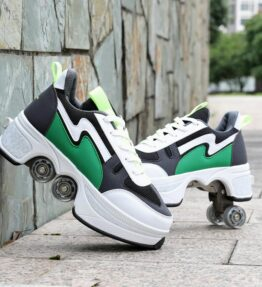 Quad Roller Skates Shoes Transformer